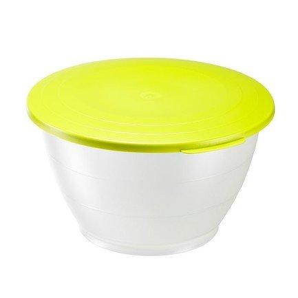 Westmark Емкость для салата Олимпия с крышкой (2.5 л), 21 см, зеленая westmark форма для 6 ти маффинов красная