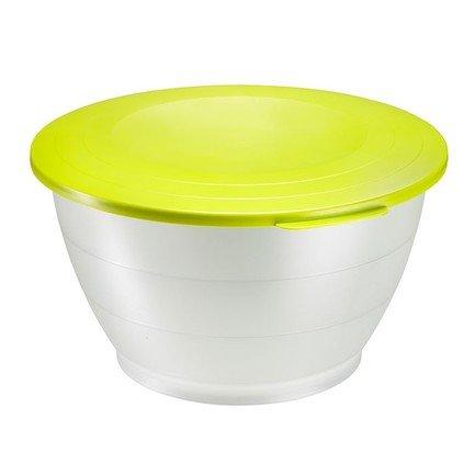 Westmark Емкость для салата Олимпия с крышкой (4.3 л), 25.5 см, зеленая 2416221A Westmark westmark емкость для салата олимпия с крышкой 2 5 л 21 см красная 2414221r westmark