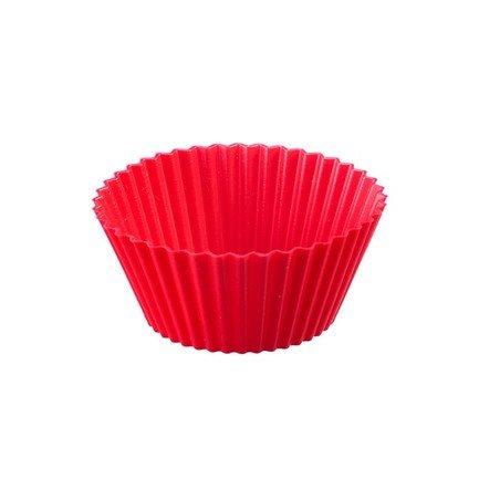 Westmark Набор форм для маффинов, 6 шт., 7 см, красный westmark форма для 6 ти маффинов красная