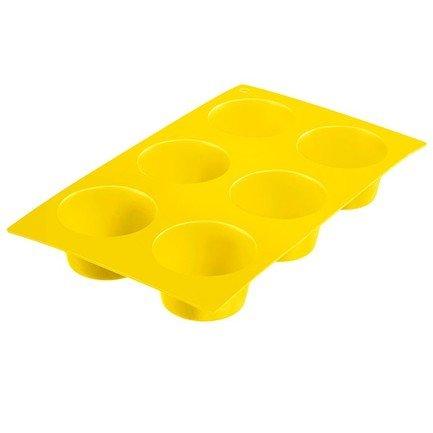 Westmark Форма для 6-ти маффинов, желтая westmark форма для 6 ти маффинов красная