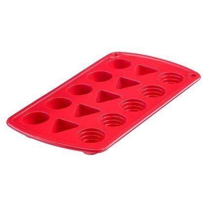 Westmark Форма для приготовления льда и шоколада сердце, красная westmark форма для 6 ти маффинов красная