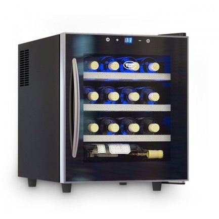 Cold Vine Винный шкаф (46 л), на 16 бутылок, термоэлектрический, черный C16-TBF1 Cold Vine cold vine винный шкаф 110 л на 39 бутылок черный c50 kbf2 cold vine