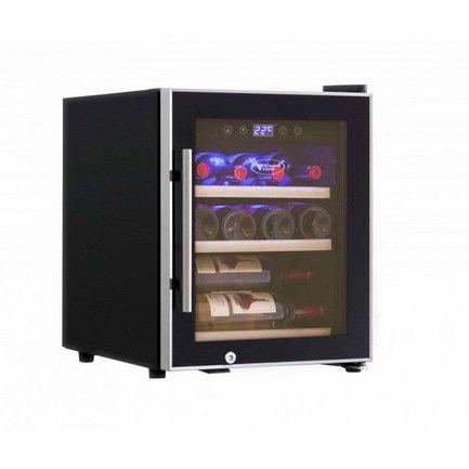 Cold Vine Винный шкаф (42 л), на 12 бутылок, черный C12-KBF1 Cold Vine cold vine винный шкаф 33 л на 12 бутылок термоэлектрический серый c12 tsf2 cold vine