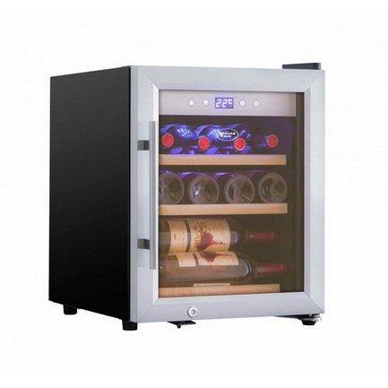Cold Vine Винный шкаф (42 л), на 12 бутылок, серый C12-KSF1 Cold Vine cold vine винный шкаф 33 л на 12 бутылок термоэлектрический серый c12 tsf2 cold vine