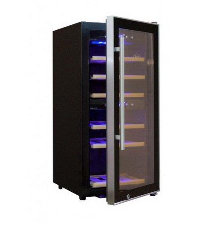 Cold Vine Винный шкаф (70 л), на 24 бутылки, черный C35-KBF2 Cold Vine винный шкаф cold vine c 180 kbf2