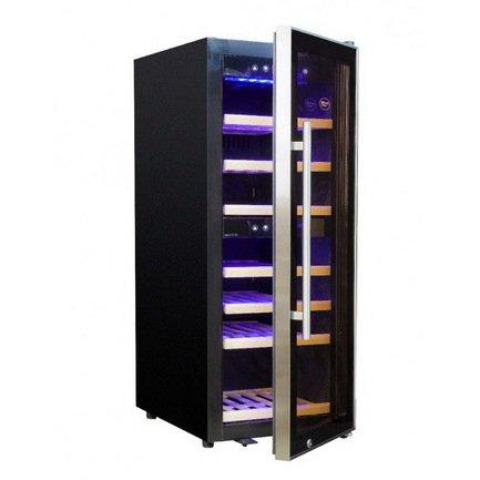 Cold Vine Винный шкаф (110 л), на 39 бутылок, черный C50-KBF2 Cold Vine cold vine винный шкаф 110 л на 39 бутылок черный c50 kbf2 cold vine