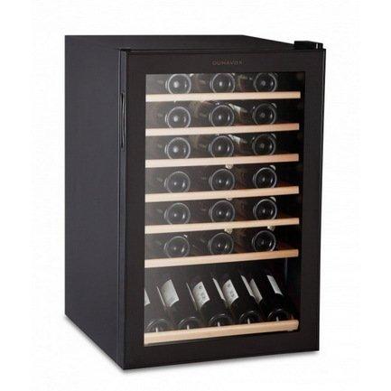 Dunavox Винный шкаф (130 л), на 48 бутылок, черный DX-48.130KF Dunavox dunavox dx 28 88k