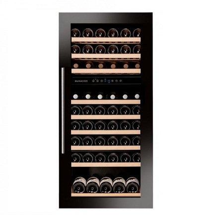 Винный шкаф (215 л), на 89 бутылок, черный DAB-89.215DB Dunavox винный шкаф 215 л на 89 бутылок черный dab 89 215db dunavox