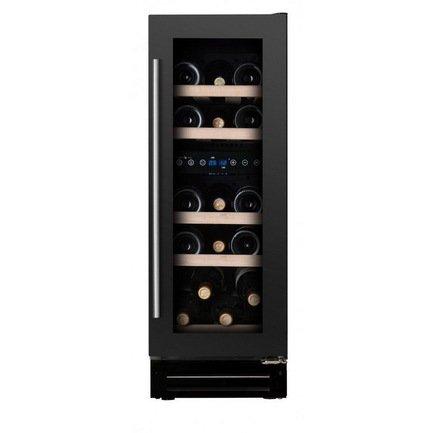 Dunavox Винный шкаф (58 л), на 17 бутылок, черный DX-17.58DBK/DP Dunavox винный шкаф dunavox dx 19 58bk dp