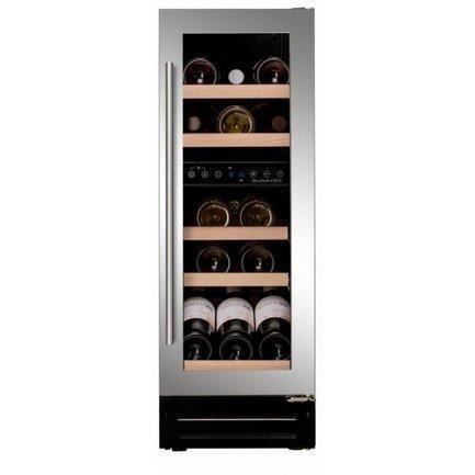 Dunavox Винный шкаф (58 л), на 17 бутылок, серый DX-17.58SDSK/DP Dunavox винный шкаф dunavox dat 6 16 c
