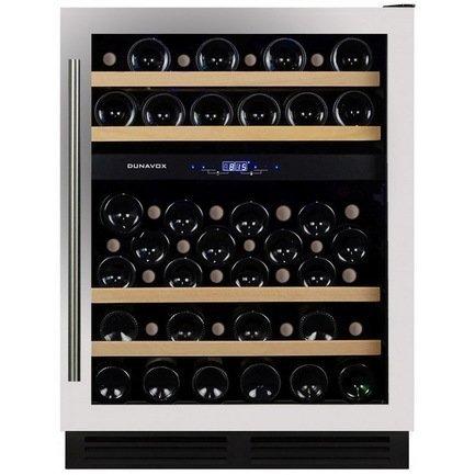 Dunavox Винный шкаф (130 л), на 53 бутылки, мультитемпературный, серый рюкзак туристический сплав voyager 130 v 2 цвет синий серый 130 л