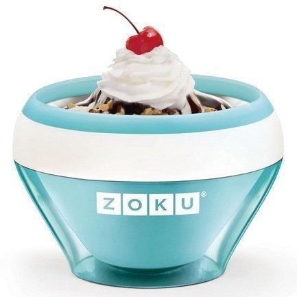 Мороженица Ice Cream Maker (150 мл), 13.8х9.4 см, голубая ZK120-LB Zoku