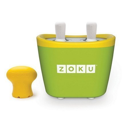 Zoku Набор для приготовления мороженого Duo Quick Pop Maker, зеленый ZK107-GN Zoku full automatic sambusa maker food dumpling maker machine industrial automatic momo dumpling maker