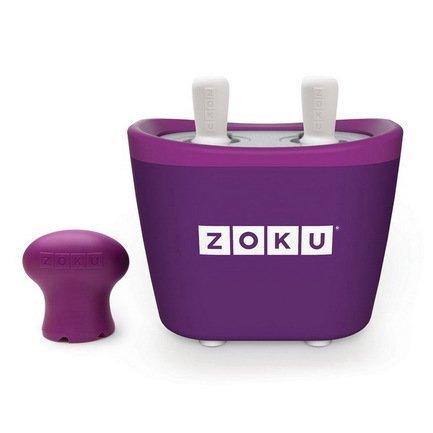 Zoku Набор для мороженого Duo Quick Pop Maker, фиолетовый ZK107-PU Zoku