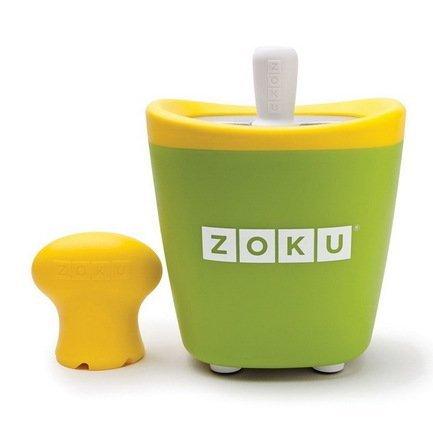 Zoku Набор для мороженого Single Quick Pop Maker, зеленый ZK110-GN Zoku набор для приготовления мороженого zoku single quick pop maker zk110 gn