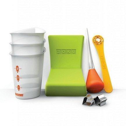 Zoku Набор инструментов для мороженого Quick Pop Tools, 8пр ZK103 Zoku zoku набор для украшения мороженого social media kit 52 пр zk112 zoku