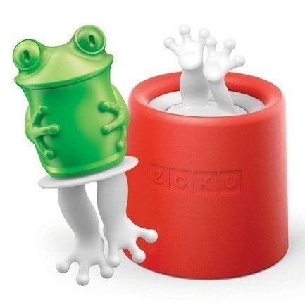 Zoku Форма для мороженого Frog ZK123-011 Zoku форма для мороженого zoku dinosaur