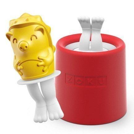 Zoku Форма для мороженого Hedgehog ZK123-010 Zoku zoku набор для украшения мороженого social media kit 52 пр zk112 zoku