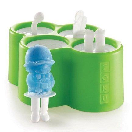 Форма для мороженого Safari, 4 шт. ZK134 Zoku zoku форма для мороженого round 4 шт zk116 zoku