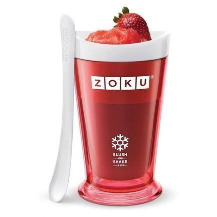Zoku Форма для десертов Sluch & Shake (240мл), 10х16.6см, красная ZK113-RD Zoku zoku мороженица ice cream maker 150 мл 13 8х9 4 см оранжевая zk120 or zoku