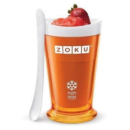 Zoku Форма для холодных десертов Sluch & Shake (240 мл), 10х16.6 см ZK113-OR Zoku zoku мороженица ice cream maker 150 мл 13 8х9 4 см оранжевая zk120 or zoku