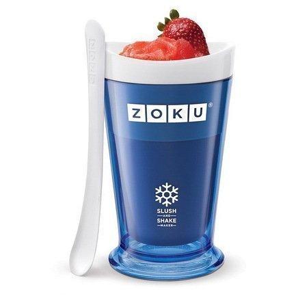 Zoku Форма для десертов Sluch & Shake (240мл), 10х16.6см, синяя ZK113-BL Zoku zoku мороженица ice cream maker 150 мл 13 8х9 4 см оранжевая zk120 or zoku