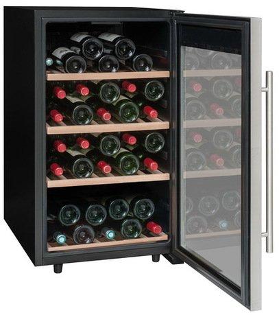 La Sommeliere Винный шкаф (5-20°С), на 50 бутылок, 4 деревянные полки LS52A La Sommeliere винный шкаф caso winemaster touch aone черный