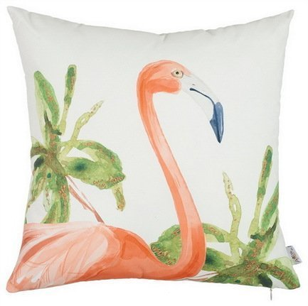 Apolena Чехол для подушки Flamingo, 43х43 см, розовый apolena