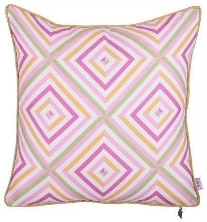 Apolena Чехол для подушки Origami, 43х43 см, розовый 702-7368/1 Apolena apolena чехол для подушки вирчуал браун 43х43 см 02 8067 5 apolena