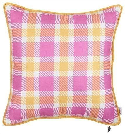 Apolena Чехол для подушки Палитра радости, 43х43 см, розовый 702-7370/1 Apolena apolena чехол для подушки вирчуал браун 43х43 см 02 8067 5 apolena
