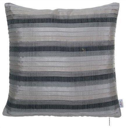 Apolena Чехол для подушки Плиссе, 40х40 см, серый apolena