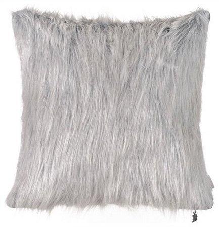 Apolena Чехол для подушки Мех, 43х43 см, серый apolena