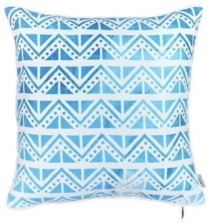 Apolena Чехол для декоративной подушки Поларис, 43х43 см, синий 702-7789/1 Apolena чехол для декоративной подушки лайм 45х45 см p02 z040 1