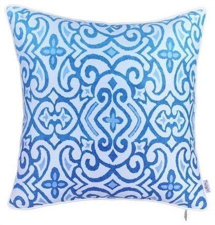 Apolena Чехол для декоративной подушки Поларис, 43х43 см, синий 702-7792/1 Apolena чехол для декоративной подушки лайм 45х45 см p02 z040 1