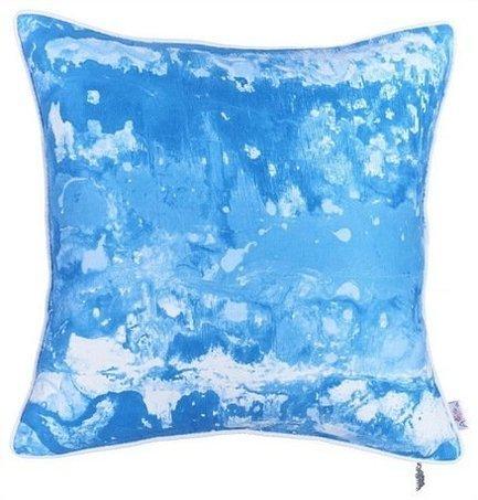 Apolena Чехол для декоративной подушки Blue water, 43х43 см, синий смесители blue water в киеве