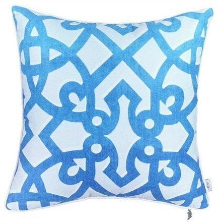 Apolena Чехол для декоративной подушки Поларис, 43х43 см, синий 702-7707/1 Apolena чехол для декоративной подушки лайм 45х45 см p02 z040 1
