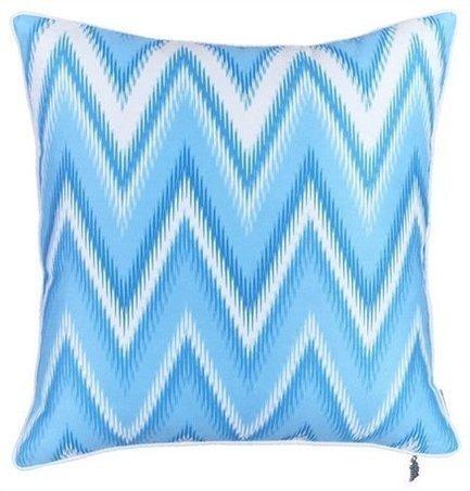 Apolena Чехол для декоративной подушки Тает лед, 43х43 см, синий apolena