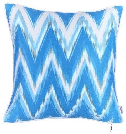 """Чехол для декоративной подушки """"Тает лед"""", 43х43 см, синий"""