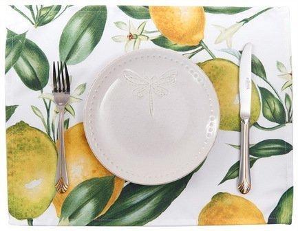 Apolena Салфетка Лимоны, 30х40 см apolena