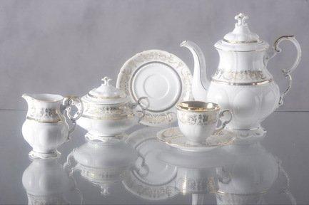 Rudolf Kampf Сервиз кофейный (0.15 л), 15 пр. 07160714-1673 Rudolf Kampf rudolf kampf чашка чайная dali с блюдцем 46120425 1001 rudolf kampf