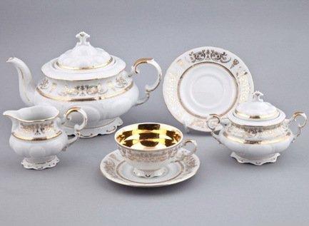 Rudolf Kampf Сервиз чайный, 15 пр. 07160725-1673 Rudolf Kampf rudolf kampf чашка чайная dali с блюдцем 46120425 1001 rudolf kampf
