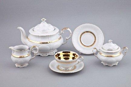 Rudolf Kampf Сервиз чайный, 15 пр. 07160725-1767 Rudolf Kampf rudolf kampf чашка чайная dali с блюдцем 46120425 1001 rudolf kampf
