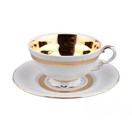 Чашка низкая National Traditions (0.20 л) с блюдцем 07120425-1767k Rudolf Kampf