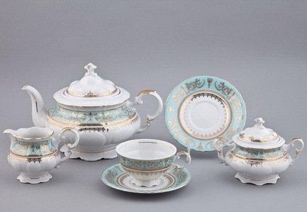 Сервиз чайный на 6 персон, 15 пр. 07160725-238Bk Rudolf Kampf