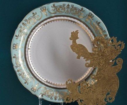Блюдо круглое, мелкое, 32 см 07111315-238B Rudolf Kampf
