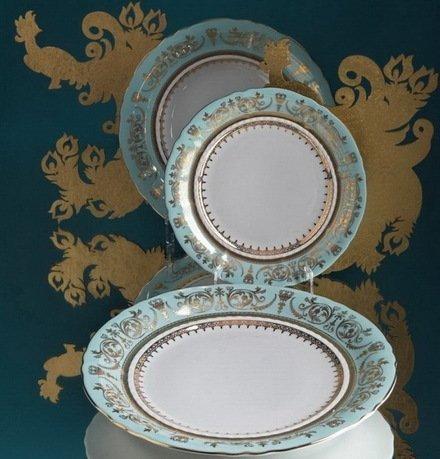 Rudolf Kampf Тарелка мелкая, 25 см 07110125-238B Rudolf Kampf тарелка мелкая 200 мм priority энчантималс лисенок стекло