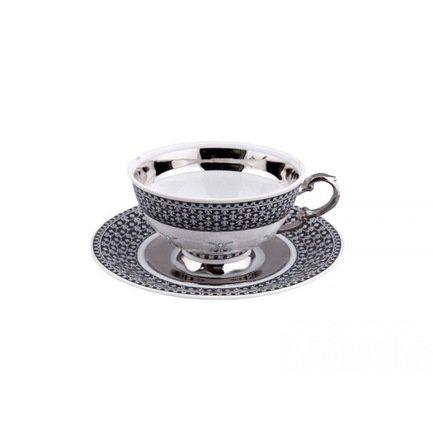 Чашка низкая National Traditions (0.20 л) с блюдцем 07120425-2115 Rudolf Kampf