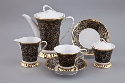 Rudolf Kampf Чайный сервиз на 6 персон, 15 пр. 57160725-2244k Rudolf Kampf jk 68 чайный сервиз на 6 перс роза milano rose pavone