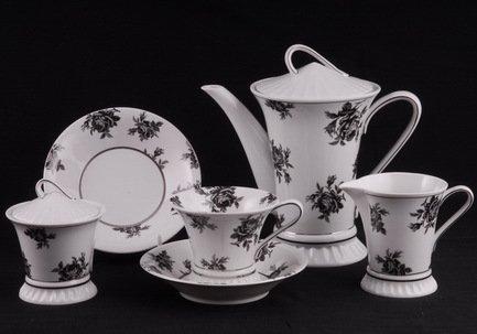 Rudolf Kampf Чайный сервиз на 6 персон, 15 пр. 57160725-2201k Rudolf Kampf сервиз чайный 15 пр цвет белый