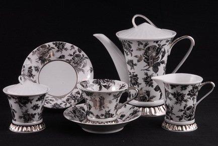 Чайный сервиз на 6 персон, 15 пр. 57160725-2202k Rudolf Kampf